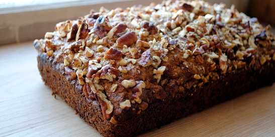 Banana Bread with Pecans