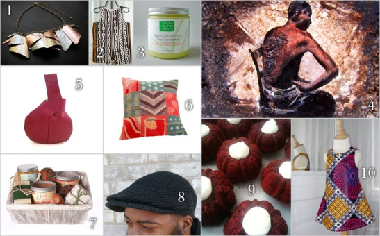 AfroMartha.com's Fave Handmade Gifts on Esty.com