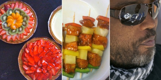 Tufo Cheesecakes and Kabobs with Chef Jawanza Zulu
