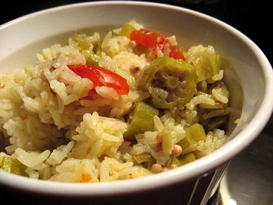 Sarina's Ochro Rice
