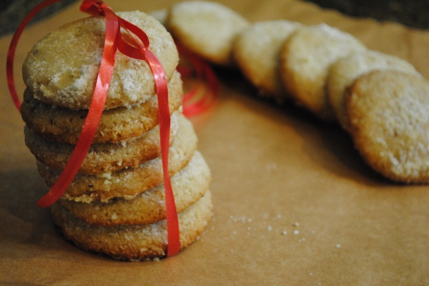 Olive Oil, Almond and Lemon Cookies - The Duo Dishes