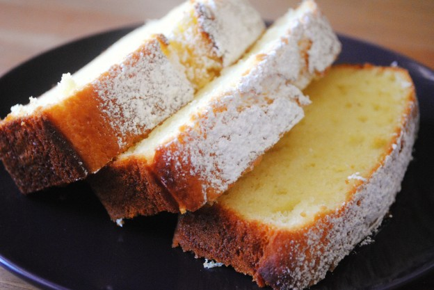 Olive Oil and Sour Cream Pound Cake 2 - The Duo Dishes