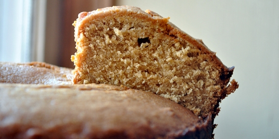Orange Palm Sugar Cake
