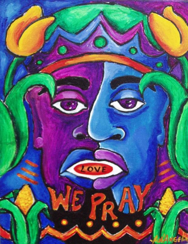 Angelia's Art We Pray - Kwanzaa Culinarians