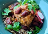 Red Beans and Chicken with Wild Rice