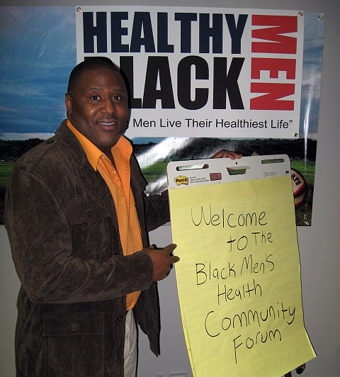 Walker Tisdale III, Founder and Editor of HealthyBlackMen.org