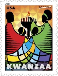 2011 National Kwanzaa postage stamp
