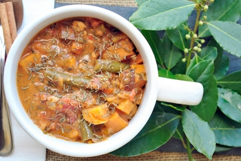 Peanut-Tomato Chicken Stew