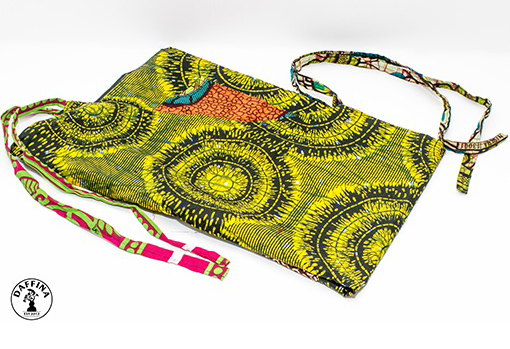 African-Print Wine Bottle Holders by Daffina