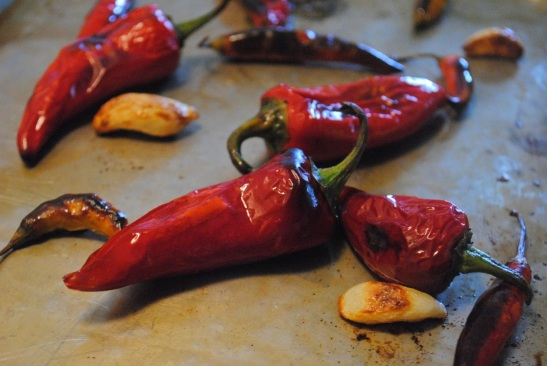 Broiled Chilis Piri Piri - The Duo Dishes