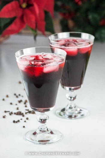 JAMAICAN CHRISTMAS SORREL DRINK by Chef and Steward